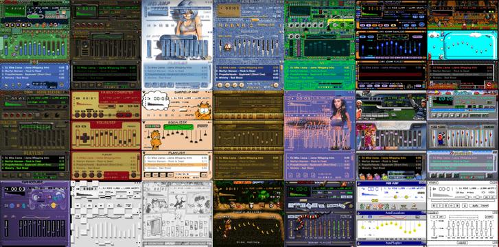 Фото №2 - Ссылка дня: виртуальный музей скинов для Winamp
