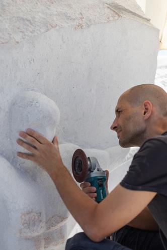 Фото №4 - Российский скульптор Петр Зайцев— победитель Scogliera Viva в Италии