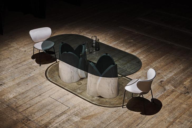 Фото №13 - Новые столы Petalo и Elitra от Lithos Design