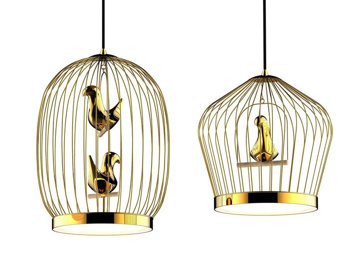 Фото №2 - Птичьи клетки в интерьере: идеи использования от дизайнера