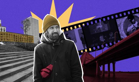 «Эхо под мостом»: прогулка вдоль Оби с музыкантом Женей Гавриловым