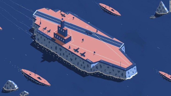 Фото №6 - Ледовое чудовище. История британского авианосца из воды и палок