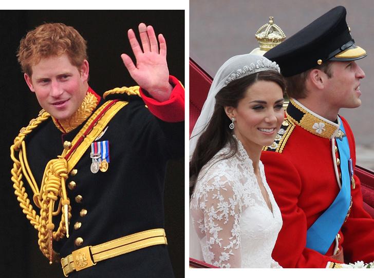 Фото №1 - Переломный момент: как свадьба Кембриджских повлияла на личную жизнь принца Гарри