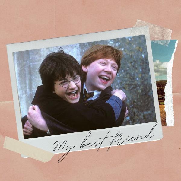 Фото №1 - Топ-10 самых прикольных бромансов в «Гарри Поттере»