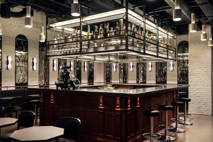 Фото №7 - Декадентский интерьер ресторана в Лондоне