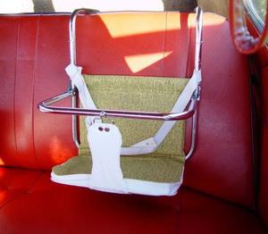 Фото №2 - Поедем, малютка, кататься: первой автолюльке для новорожденных 30 лет