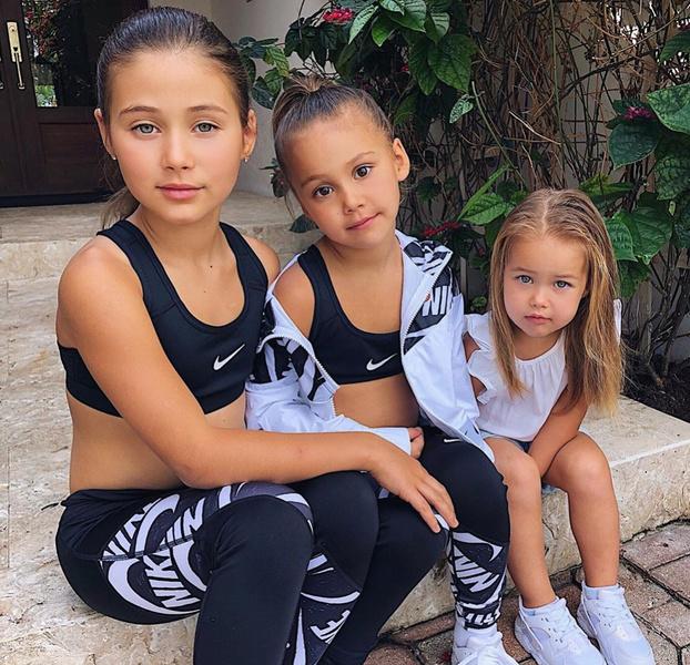 Дочери Оксаны Самойловой и Джигана