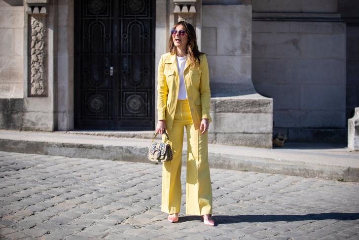 Фото №13 - Уроки стритстайла: как носить желтый