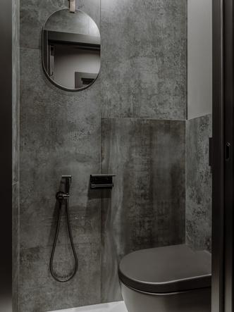 Фото №12 - Квартира 55 м² в темных тонах для молодой семьи в Подмосковье