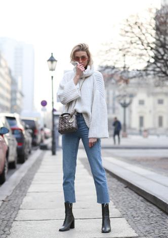Фото №3 - Гайд: сочетаем джинсы с обувью в холодное время года