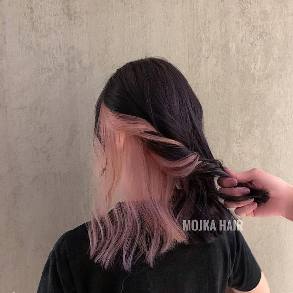 Фото №6 - Как красить волосы в розовый в 2021 году: 8 модных идей