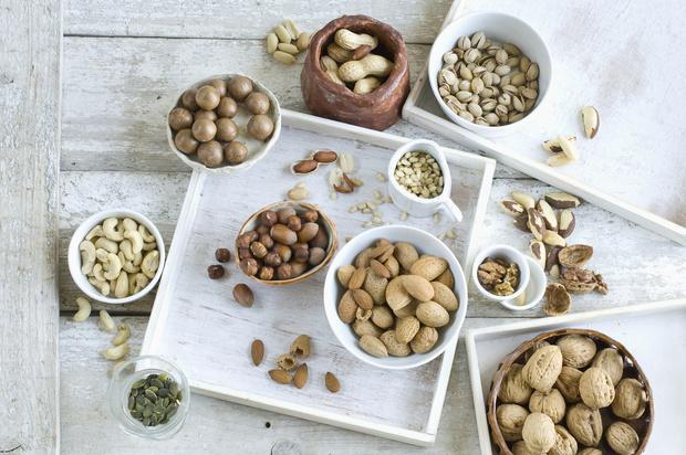 можно ли есть орехи кормящей маме