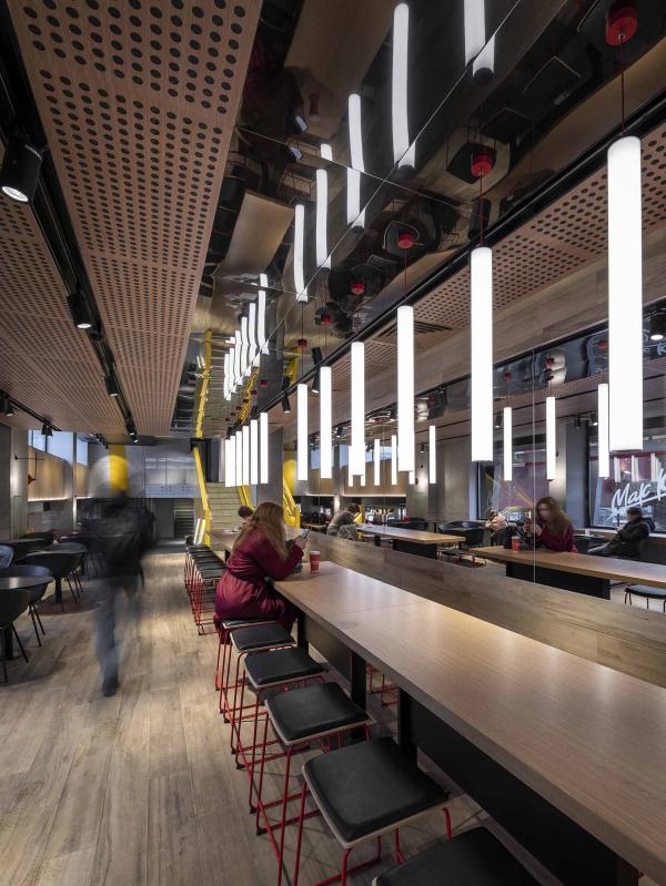 Фото №8 - «Макдоналдс» на Пушкинской— обладатель Sydney Design Awards 2020