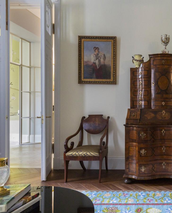 Фото №3 - Классическая квартира 150 м² для профессора в Киеве