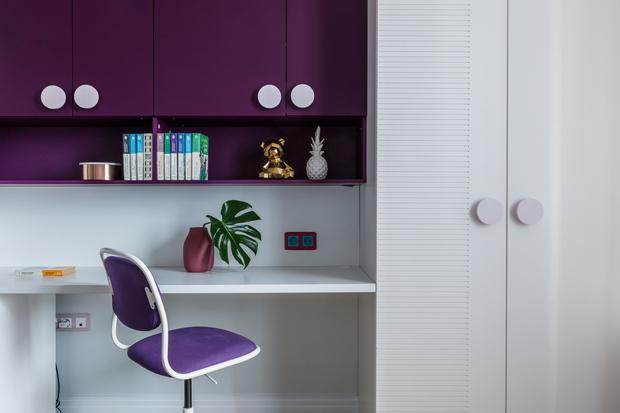 Фото №10 - Всплеск цвета: яркая квартира 81,6 м²