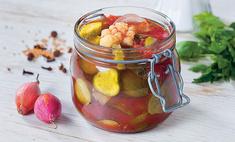 Овощи в томатной заливке