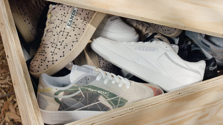 Фото №1 - Reebok выпускает коллекцию кроссовок, посвященную Чарльзу и Рэй Имз
