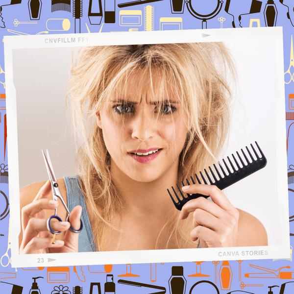 Фото №1 - Сам себе парикмахер: 5 безумных бьюти-хаков из ТикТока, которые испортят твои волосы