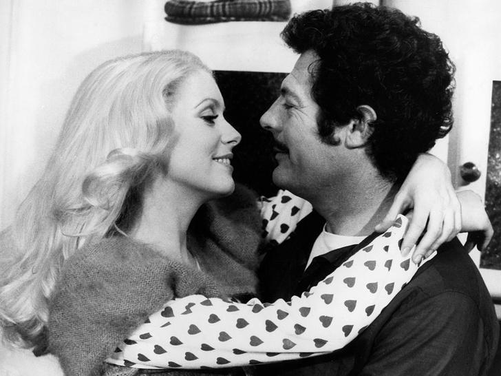 Фото №5 - Лед и пламень: обреченная любовь Катрин Денев и Марчелло Мастроянни — самой красивой пары европейского кино