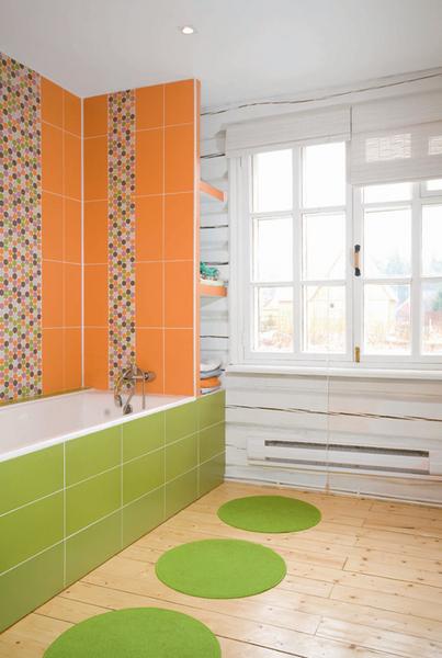 Фото №1 - Ванная в загородном доме: дизайн-проект
