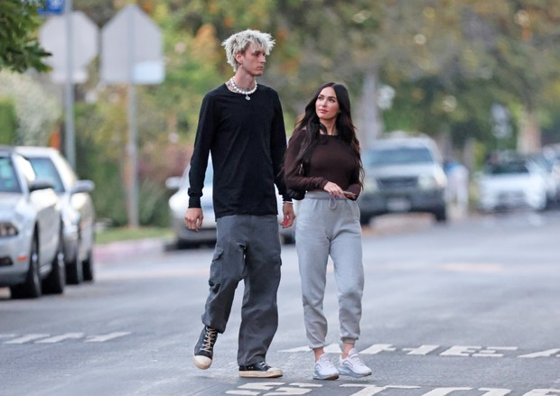 Фото №2 - Love is… одеваться в похожем стиле, как Меган Фокс и Machine Gun Kelly