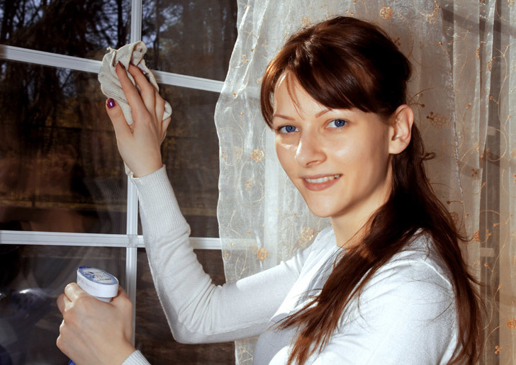 Как мыть окна