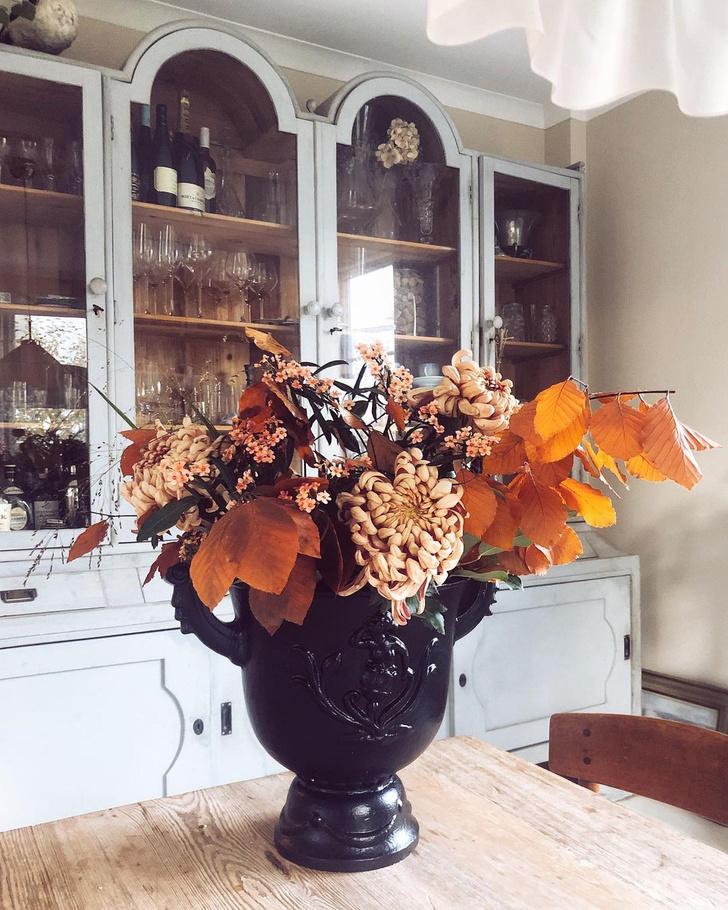 Фото №10 - Осеннее настроение в доме: примеры из реальных интерьеров