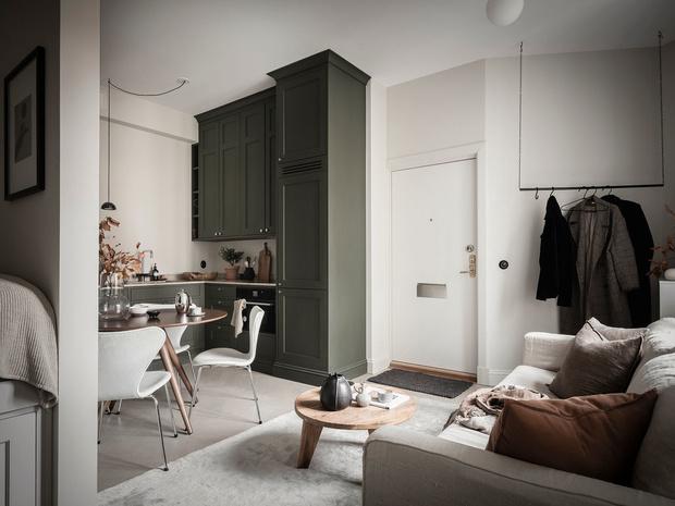 Фото №10 - Уютная, светлая студия 31 м² в Гетеборге