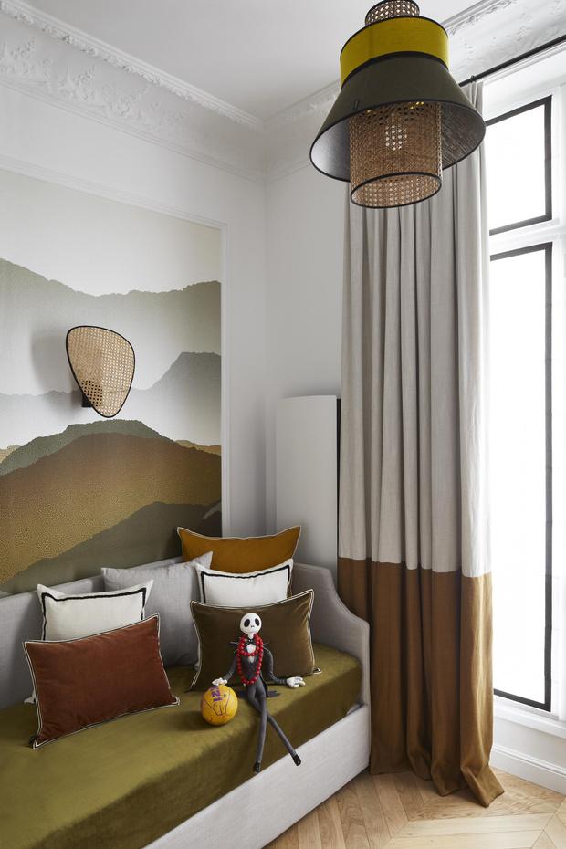 Фото №11 - Квартира с элементами нового ар-деко в Париже