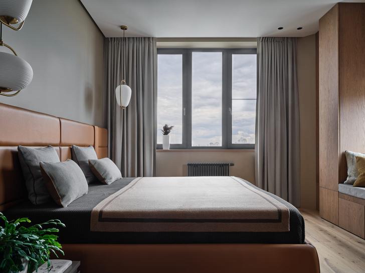 Фото №6 - Московская квартира 200 м² в нейтральных тонах
