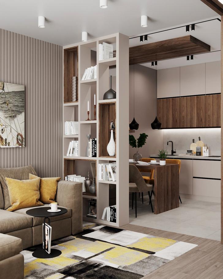 Фото №2 - Квартира без кухни: 5 советов по проектированию и оформлению