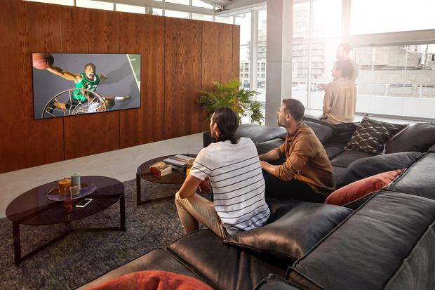 Фото №5 - Телевизор-галерея: новый взгляд на технологии в интерьере