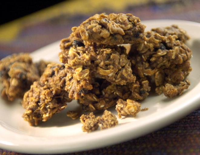печенье из овсянки и творога рецепт