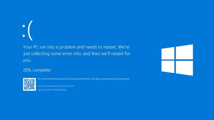 Фото №5 - 35 лет ОС Windows: история голубого экрана смерти