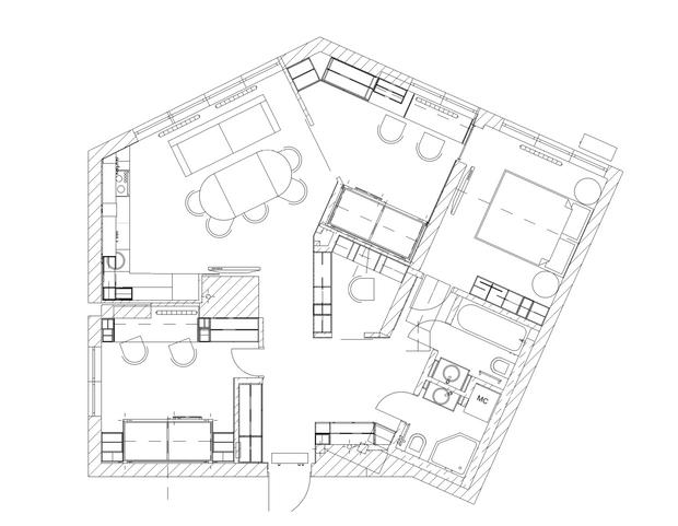 Фото №14 - Квартира 76 м² для семьи с четырьмя детьми в Киеве
