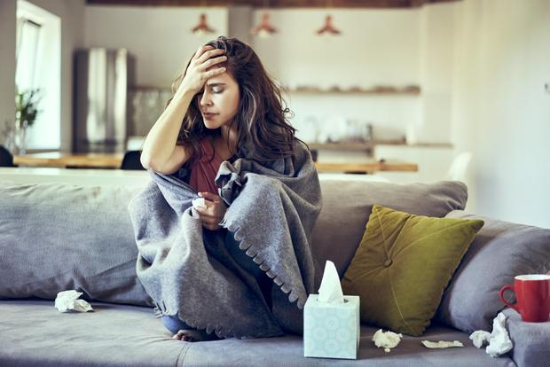 Фото №1 - Головная боль при гриппе: как помочь без таблеток?