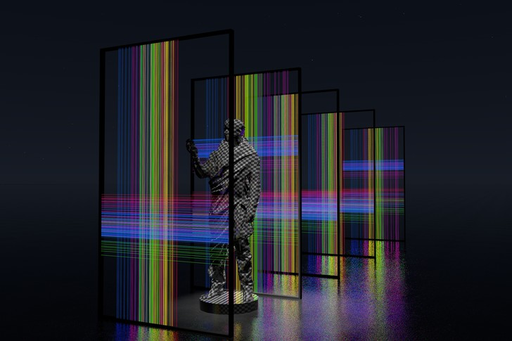 Фото №2 - New Nature: выставка-исследование «человека виртуального» от Recycle Group