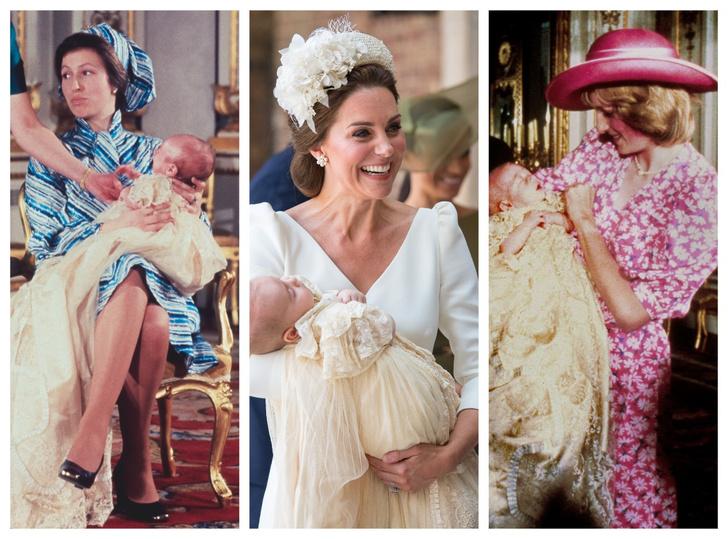 Фото №1 - Самые стильные образы королевских мам на крестинах их детей