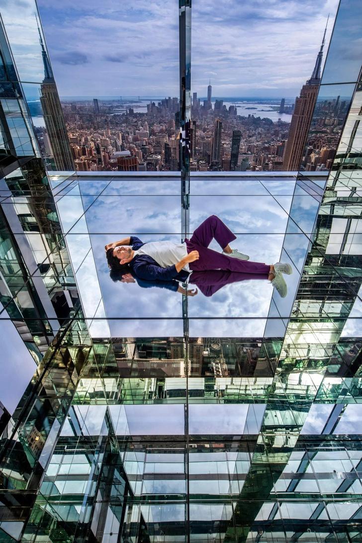 Фото №3 - Смотровая площадка в Нью-Йорке с прозрачным полом