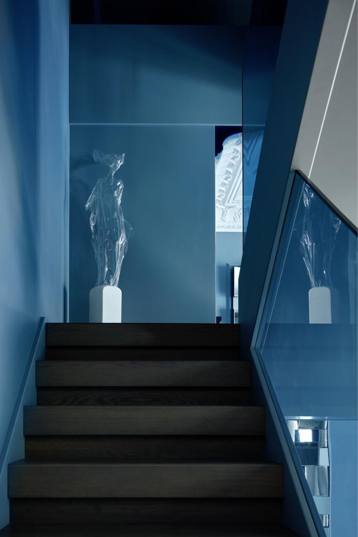 Фото №5 - Двухэтажная квартира «на Патриках»: проект Аллы Шумейко