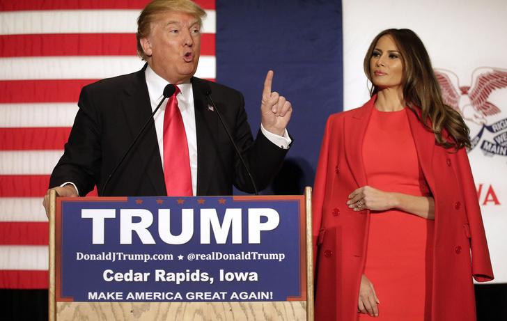 Фото №11 - Большая разница: как менялся стиль Мелании Трамп во время президентских кампаний мужа