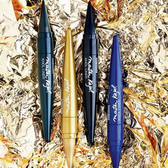 Модные сейчас кайялы также пришли в европейский макияж из арабских стран. Благодаря высокому содержанию масел эти мягкие карандаши подходят даже для внутренней части века. Юрий Столяров, визажист Maybelline New York, выпустившей коллекцию Master Kajal, ре