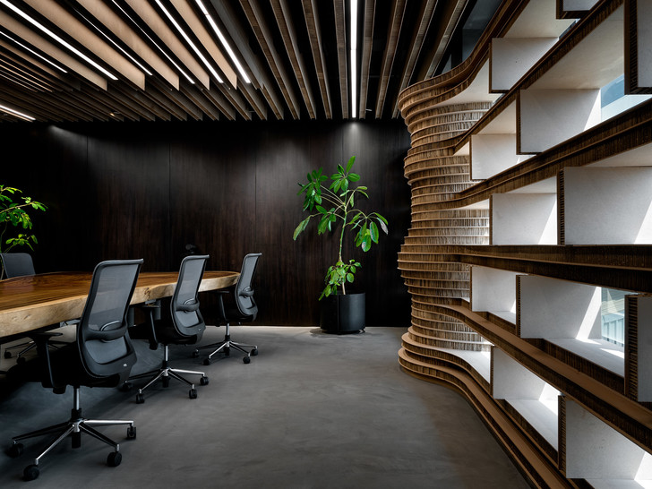 Фото №6 - Офис с картонными перегородками в Индии