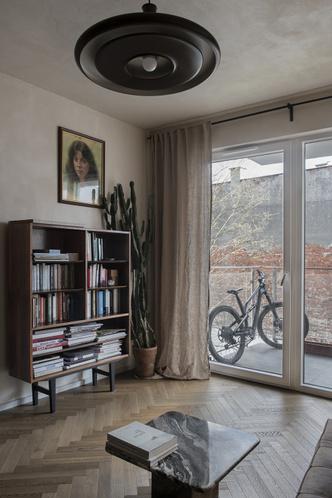 Фото №3 - Квартира 45 м² с винтажной мебелью в Гданьске