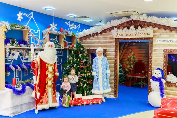 Фото №2 - Дом Деда Мороза от Mothercare