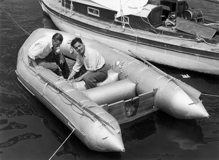 Фото №1 - Ален Бомбар и его безумное одиночное плавание через Атлантический океан