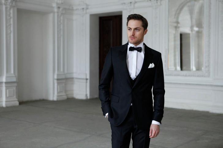 Пример классического дресскода black tie