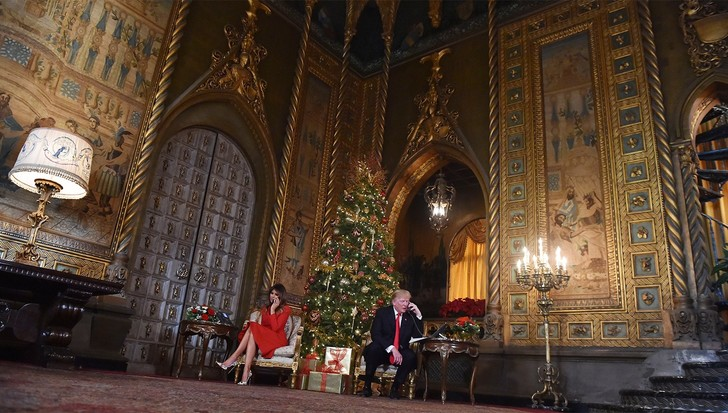 Фото №4 - Фотографии дворца Трампа, где он будет жить после Белого дома