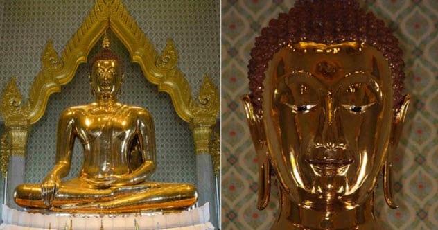 Фото №9 - 9 странных предметов, найденных внутри статуй