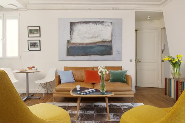 Фото №2 - Парижская квартира 40 м² архитектора Ильи Сологубовского